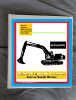 Komatsu pc20-7  Excavator SERVICE WORKSHOP REPAIR MANUAL BINDER