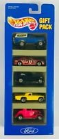 Mattel 1993 Hot Wheels FORD 5 car gift Pack #12404 Bronco '32 Sedan T-Bird