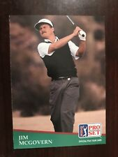 1991 Pro Set #155 - Jim McGovern (RC) - Golf