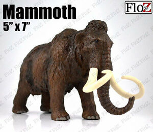 Prehistoric Mammoth Wolly Elephant Figure 5 inches height model FloZ Collectible