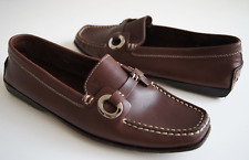 TOD'S LEATHER DRIVING MOCCASINS SIZE 37