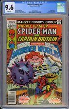Marvel Team-Up #66 CGC 9.6 NM+ Wp 1st Full Arcade Spider-Man & Captain Britain