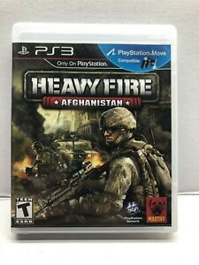 Heavy Fire: Afghanistan (Sony PlayStation 3, 2011) Complete w/ Manual Tested