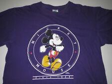 Vtg Mickey Mouse Disney T-Shirt  Purple Adult XL