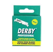 Derby Professional Single Edge Razor Blades Hanging