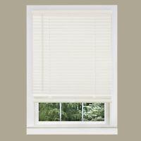 "Cordless Window Minds Mini Blinds 1"" Slats Alabater Vinyl Blind"