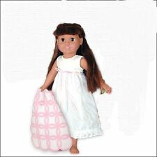 "Doll Clothes AG 18"" Nightgown White Eyelet Springfield Fits American Girl Dolls"