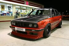 "BMW E30 FENDER FLARES / WHEEL ARCH EXTENSIONS 2.3"" / 6 CM DRIFT JDM RACE"