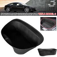 For Tesla Model 3 17-19 Black Car Front Trunk Soundproof Cotton Mat