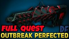 Destiny 2 Outbreak Perfected Guaranteed Wepon Exotic Pulse Rifle Full QUEST  Ps4