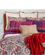 NIP Ralph Lauren Norwich Pyne Paisley King Comforter & Shams Set 3pc