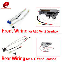 Airsoft Rear/Front Wiring Large Capacity Switch Assembly for AEG Ver.2 Gearbox