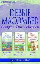 Debbie Macomber CD Collection: Susannah's Garden, Back on Blossom Street, Twenty