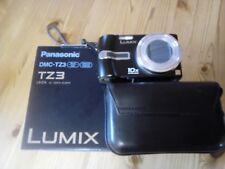 Panasonic dmc tz3. 7.2 megapixel. 10 x optical zoom. 3inch LCD.