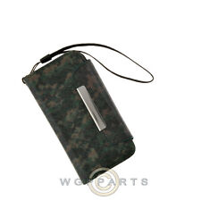 Apple iPhone 5C/i5C/Lite Wallet Pouch Camo Green Case Cover Shell Guard