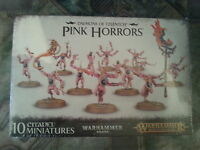 WARHAMMER 40K / AGE OF SIGMAR DAEMONS OF TZEENTCH PINK HORRORS - NEW & SEALED