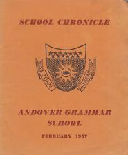 ANDOVER GRAMMAR SCHOOL, SCHOOL CHRONICLE FEBRUARY 1957