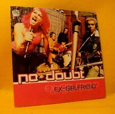Cardsleeve Single CD No Doubt Ex-Girlfriend 2TR 2000 Pop Rock