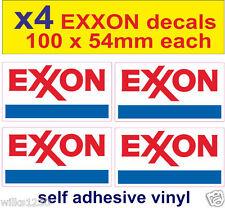EXXON ESSO OIL rally race car classic decal van mini bus truck sticker bicke