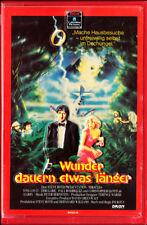 """VHS - """" WUNDER dauern etwas länger ( Miracles ) """" (1986) - Tom Conti - Teri Garr"""