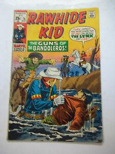 RAWHIDE KID  #76  (1970)  6.0 FN