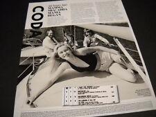 ABBA 40 Years Ago detailed 2014 Promo Display Page MAMMA MIA MANIA BEGAN