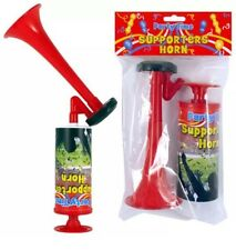 Air Horn Hand Held Pompe Alimenté Football public Festival Loud corne de brume UK