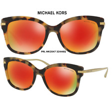 3e1c1551bcf Michael Kors 2047 Lia Sunglasses 32446q Havana 100 Authentic