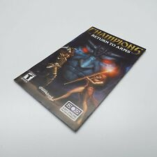 CHAMPIONS RETURNS TO ARMS (PLAYSTATION 2) BOOKLET ONLY (LOOK DESCRIPTION) J400