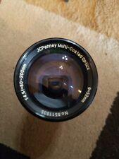 JC penney multi Coated 1:4.5 f=80-200mm 52Ø