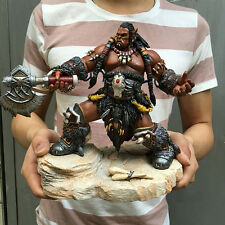 WOW World of Warcraft Ogrim Durotan Lords of War PVC Figure 3D Model Statue New