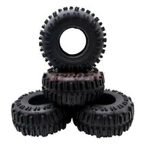 "2.2"" RC CRAWLER TIRES FOR AXIAL WRAITH SCX10 TRX-4 RC TRUCK SOFT RUBBER TYRE(4)"