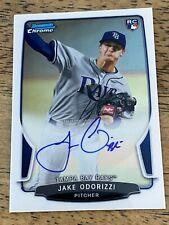 Jake Odorizzi 2013 Bowman Chrome Rookie Card Auto RC #AJR-JO Houston Astros