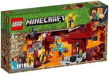New LEGO Minecraft 21154 The Blaze Bridge Playset Age 8+ 372 pcs Alex Skeletons