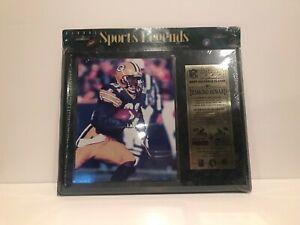 Sports Legends Desmond Howard Super Bowl XXXI MVP Commemorative Plaque