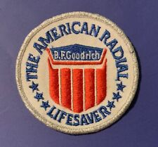 Vintage BF Goodrich The American Radial Lifesaver Patch Tires Auto 420S
