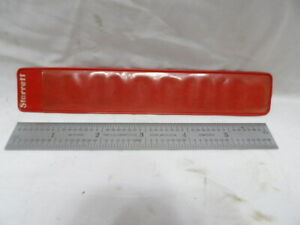 "Starrett 6"" Scale/Ruler No. 604R"