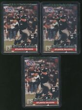 LOT (x3) 1991 NFL Pro Set BRETT FAVRE RC rookie Falcons Packers