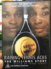 Raising Tennis Aces - The Venus And Serena Williams Story region 4 DVD (doco)