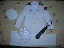 Obsolete 07's series China PLA Navy Man NCO Uniform,Set,White.