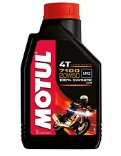 Huile MOTUL 7100 20W50 moto scooter quad Road 1 litre 4 temps 100% synthèse