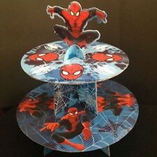 Spiderman Party Cakes