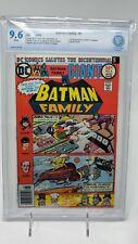 Batman Family #6 CBCS not CGC 9.6 1st Duela Dent (Joker's Daughter) NEWSSTAND DC