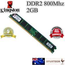 New OEM Kingston 2GB 800 Mhz DDR2 Desktop RAM Memory PC2-6400 2G DIMM