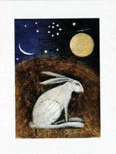 Pagan wiccan greetng cartes rossignol stream lièvre celtique déesse catherine hyde