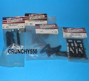 Vintage Team Associated  TC3 Parts Lot 2231, 3893, 3879 RC Part