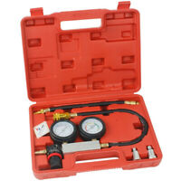 Petrol Engine Cylinder Leak Down Tester Compression Leakage Detector Kit Set UK