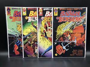 Badger Goes Berserk #'s 1-4 Complete Set First Comics