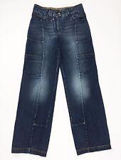 Sportmax code jeans tg 42 F40 w28 gamba larga relaxed vita bassa straight T107