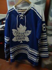 2014 Winter Classic Toronto Maple Leafs Reebok CCM NHL Hockey Jersey Size Large